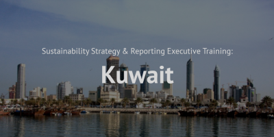 Sustainability Strategy and Reporting Training course Kuwait