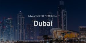 Advanced Chief Sustainability Officer CSO Professional training course Dubai