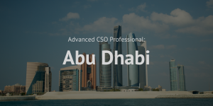 Advanced Chief Sustainability Officer (CSO) Professional training course Abu Dhabi