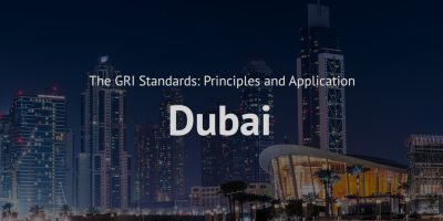 GRI standards principles and application training course Dubai Global reporting initiative