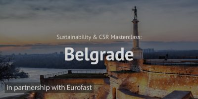 Sustainability CSR Masterclass Belgrade