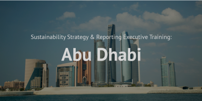 Sustainability Strategy and Reporting_Abu Dhabi