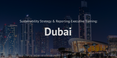 Sustainability Strategy and Reporting training course Dubai