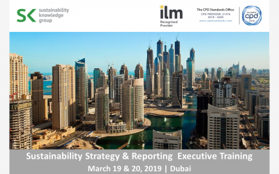 Our Sustainability Strategy & Reporting Executive Training in Dubai was a huge success!