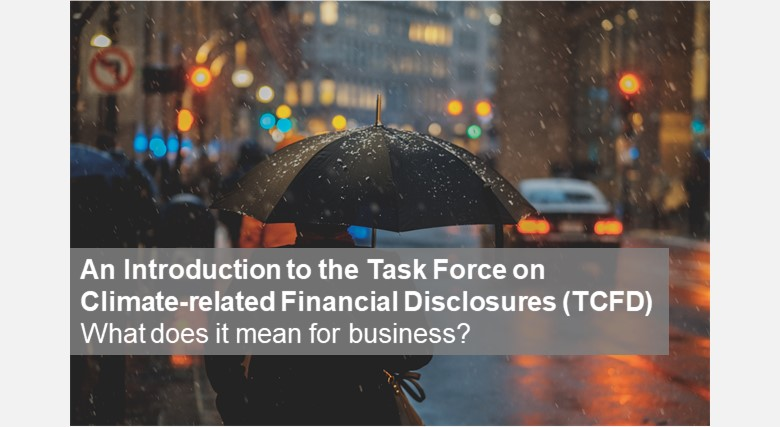 An Introduction to the Task Force on Climate-related Financial Disclosures (TCFD): What does it mean for business?