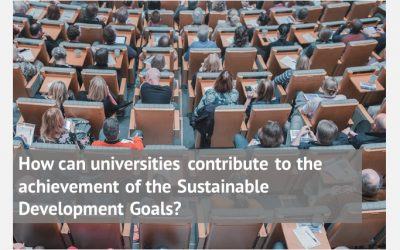 How can universities contribute to the achievement of the Sustainable Development Goals?