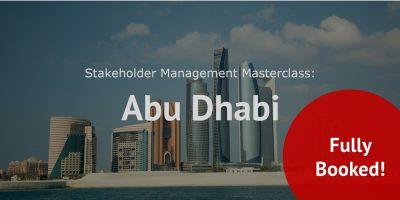 Stakeholder management Abu Dhabi