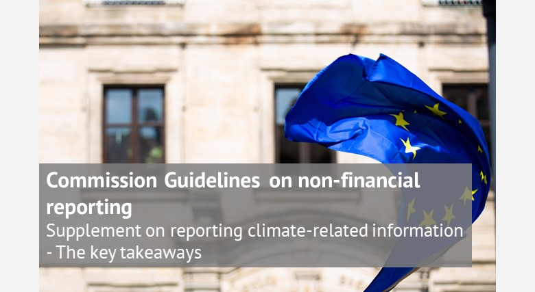 Commission Guidelines on non-financial reporting: Supplement on reporting climate-related information – The key takeaways