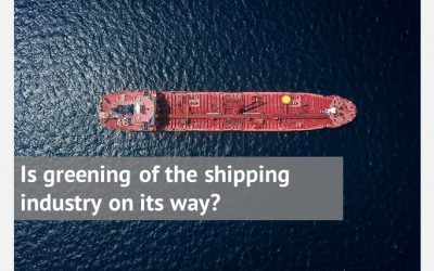Is greening of the shipping industry on its way?