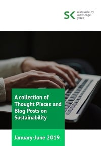 A collection of Thought Pieces and Blog Posts on Sustainability