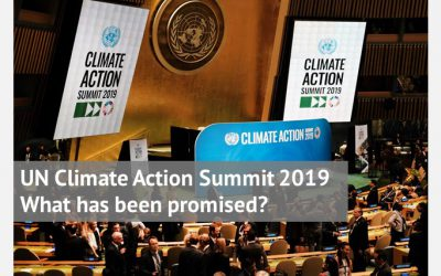 UN Climate Action Summit 2019 – What has been promised?
