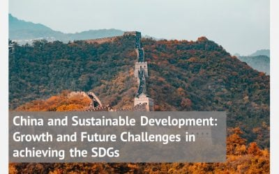China and Sustainable Development: Growth and Future Challenges in achieving the SDGs