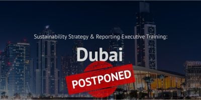 sustainability strategy reporting postponed