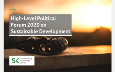 High-Level Political Forum 2020 on Sustainable Development
