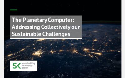 The Planetary Computer: Addressing Collectively our Sustainable Challenges