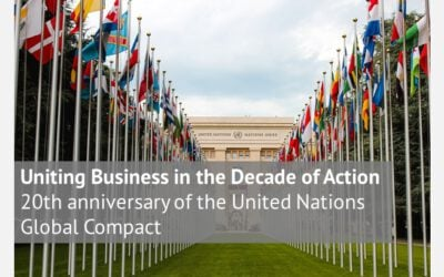 Uniting Business in the Decade of Action 20th anniversary of the United Nations Global Compact