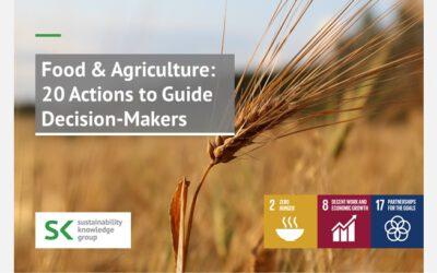 Food & Agriculture: 20 Actions to Guide Decision-Makers