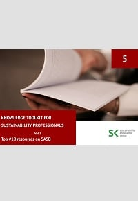 Knowledge Toolkit for Sustainability Professionals vol. 5 Top 10 SASB Resources