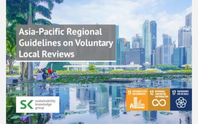 Asia-Pacific Regional Guidelines on Voluntary Local Reviews