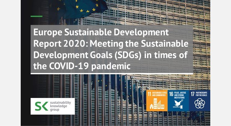 Europe Sustainable Development Report 2020: Meeting the Sustainable Development Goals (SDGs) in times of the COVID-19 pandemic