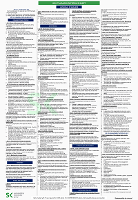 The GRI Standards Reference Sheet – 2021