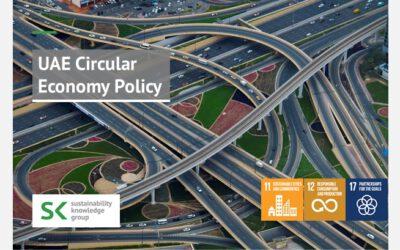 UAE Circular Economy Policy
