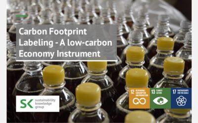 Carbon Footprint Labeling – A low-carbon Economy Instrument