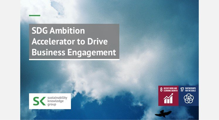 SDG Ambition Accelerator to Drive Βusiness Engagement