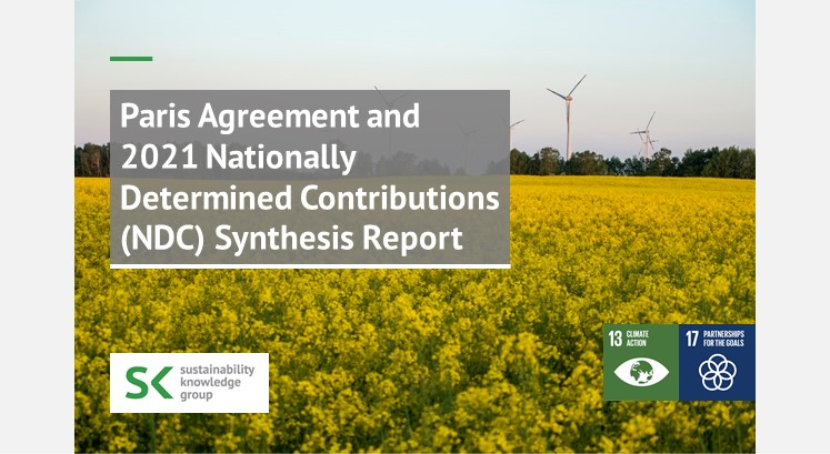 Paris Agreement and 2021 Nationally Determined Contributions (NDC) Synthesis Report