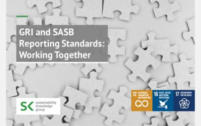 GRI and SASB Reporting Standards: Working Together