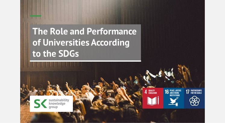 The Role and Performance of Universities According to the SDGs