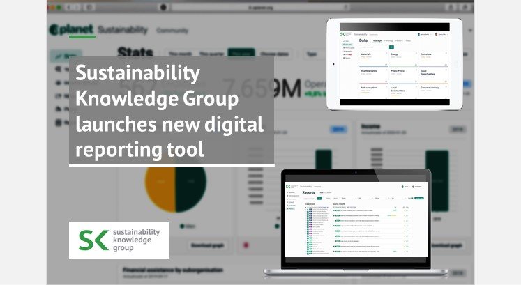 Sustainability Knowledge Group launches new digital reporting tool