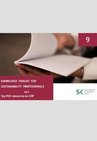 Knowledge Toolkit for Sustainability Professionals vol. 9 Top 10 CDP Resources